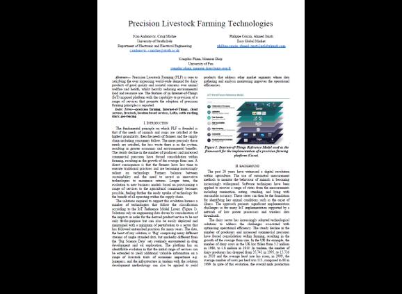 Precision Livestock Farming Technologies
