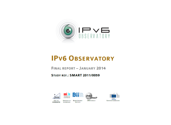 IPv6 deployment observatory report