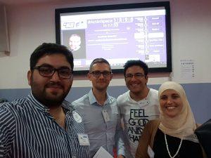 EGM team at Actinspace